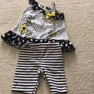 Toddler girls bee outfit